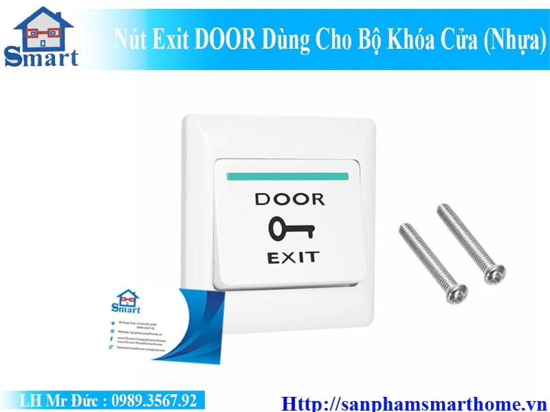 Nút Exit DOOR Dùng Cho Bộ Khóa Cửa (Nhựa) 2